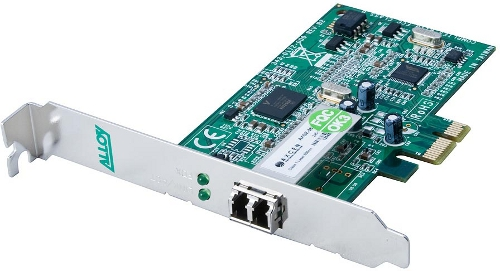 PCI-E Gigabit 1000Base-SX fibre Network Adapter