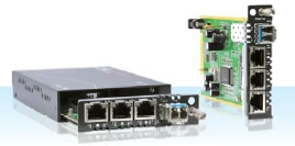 3-Port 10/100Base-TX + 100Base FX Managed Switch
