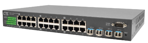24 Port L2 Ethernet Managed Switch