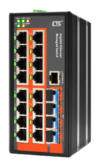 16 Port Managed Gigabit Ethernet Switch