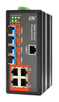 4 Port Managed Gigabit Ethernet Switch
