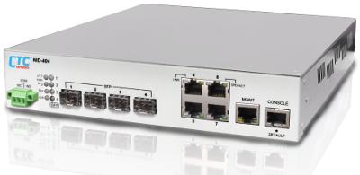 L2+ Carrier Ethernet Switch (NID) with Sync. Ethernet